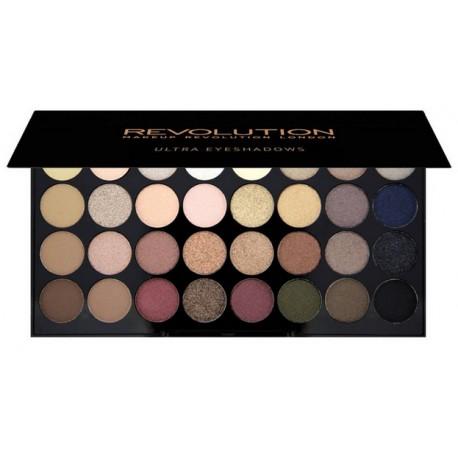 Makeup Revolution Ultra Eyeshadows Palette Flawless šešėlių paletė 16 g.