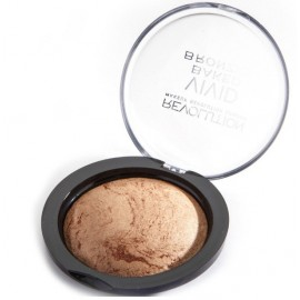 Makeup Revolution Vivid Baked Bronze kompaktinė bronzinė pudra (spalva Golden Days)