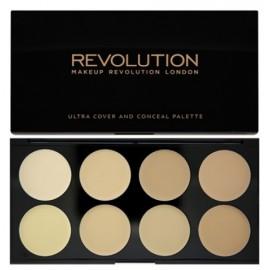 Makeup Revolution Ultra Cover&Conceal maskavimo paletė 10 g.