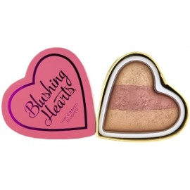 Makeup Revolution I Love Makeup Heart Blusher skaistalai Peachy Keen Heart 10 g.