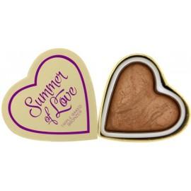 Makeup Revolution I Love Makeup Heart Bronzer bronzantas Love Hot Summer 10 g.