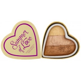 Makeup Revolution I Love Makeup Heart Bronzer bronzantas Hot Summer Of Love 10 g.