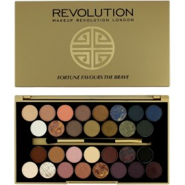 Makeup Revolution Fortune Favours The Brave šešėlių paletė 16 g.