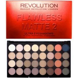 Makeup Revolution Ultra Eyeshadows Palette Flawless Matte 2 šešėlių paletė 16 g.