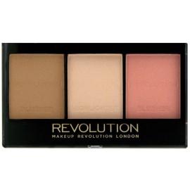 Makeup Revolution Ultra Sculpt&Contour Kit rinkinys kontūravimui Fair C01 11 g.