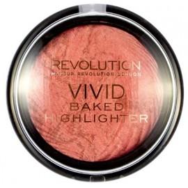 Makeup Revolution Vivid Baked švytėjimo suteikianti priemonė Rose Gold Lights 7,5 g.