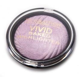 Makeup Revolution Vivid Baked švytėjimo suteikianti priemonė Rose Pink Lights 7,5 g.