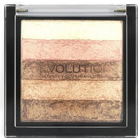 Makeup Revolution Vivid Shimmer Brick švytėjimo suteikianti priemonė 7 g.