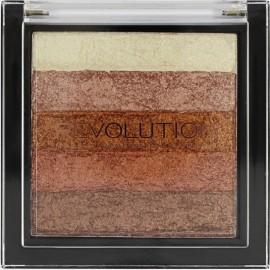 Makeup Revolution Vivid Shimmer Brick švytėjimo suteikianti priemonė Rose Gold 7,5 g.