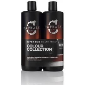Tigi Tigi Catwalk Fashionista Brunette rinkinys (750 ml. šampūnas + 750 ml. kondicionierius)