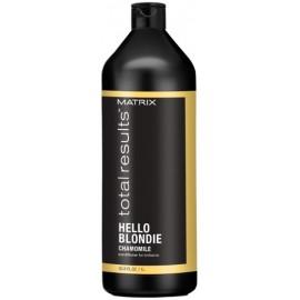 Matrix Total Results Hello Blondie Chamomile kondicionierius šviesiems plaukams 1000 ml.