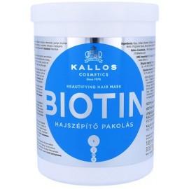 Kallos Biotin Hair Mask kaukė su biotinu