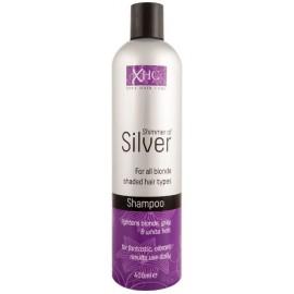 Xpel Shimmer Of Silver šampūnas šviesiems/pilkiems plaukams 400 ml.