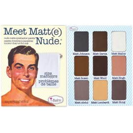 The Balm Meet Matt(e) Nude Eyeshadow Palette šešėlių paletė 25,5 g.