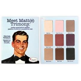 The Balm Meet Matt(e) Trimony Eyeshadow Palette šešėlių paletė 21,6 g.