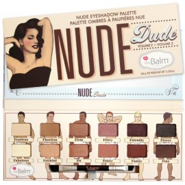 The Balm Nude Dude Volume 2 Eyeshadow Palette šešėlių paletė 9,6 g.