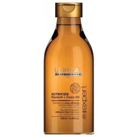Loreal Professionnel Expert Nutrifier šampūnas sausiems plaukams