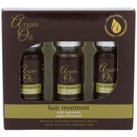 Xpel Argan Oil Hair Treatment Intensive Hydrating Shots plaukų priemonė (3x12 ml.)