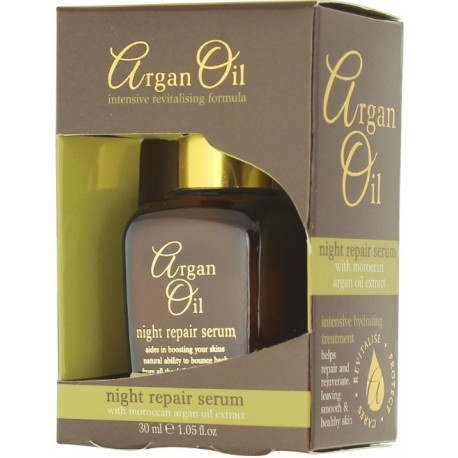 Xpel Argan Oil Night Repair Serum naktinis serumas su argano aliejumi 30 ml.