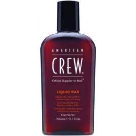 American Crew Liquid Wax vidutinės fiksacijos skystas plaukų vaškas vyrams 150 ml.