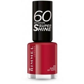 Rimmel 60 Seconds Super Shine Nail Polish greitai džiūstantis nagų lakas 315 Queen Of Tarts 8 ml.