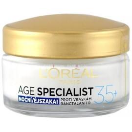 Loreal Age Specialist 35+ naktinis kremas nuo raukšlių 50 ml.
