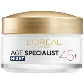 Loreal Age Specialist 45+ naktinis kremas nuo raukšlių 50 ml.