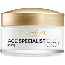 Loreal Age Specialist 55+ dieninis kremas nuo raukšlių 50 ml.