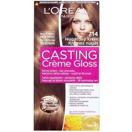 Loreal Casting Creme Gloss plaukų dažai be amoniako 714 Chocolate Lollip