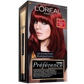 Loreal Préférence Féria ilgalaikiai plaukų dažai P37 Pure Plum