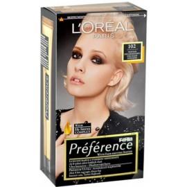 Loreal Préférence Féria ilgalaikiai plaukų dažai 102 Iridescent Pearl