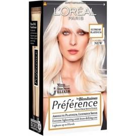 Loreal Préférence les Blondissimes ilgalaikiai plaukų dažai Extreme Platinum