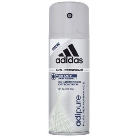Adidas Adipure purškiamas dezodorantas vyrams 150 ml.