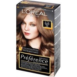 Loreal Préférence Récital ilgalaikiai plaukų dažai 7.1 Island