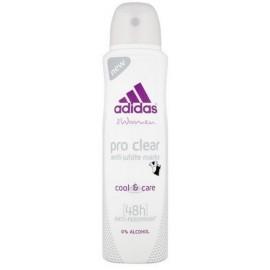 Adidas Pro Clear purškiamas antiperspirantas moterims 150 ml.