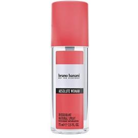 Bruno Banani Absolute Woman purškiamas dezodorantas 75 ml.