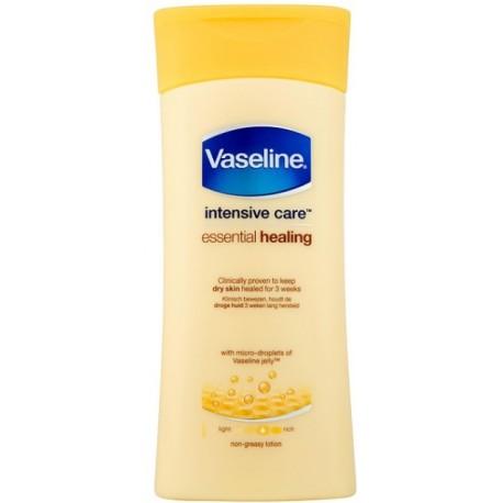 Vaseline Intensive Care Essential Healing intensyvios priežiūros losjonas sausai odai 200 ml.