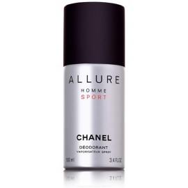 Chanel Allure Sport purškiamas dezodorantas vyrams 100 ml.