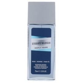 Enrique Iglesias Deeply Yours purškiamas dezodorantas vyrams 75 ml.