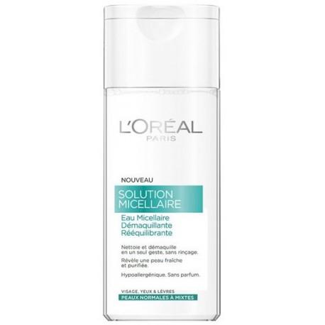Loreal Micellar Water micelinis vanduo normaliai/mišriai odai 200 ml.