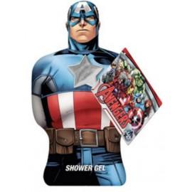 Marvel Avengers Captain America dušo želė vaikams 350 ml.