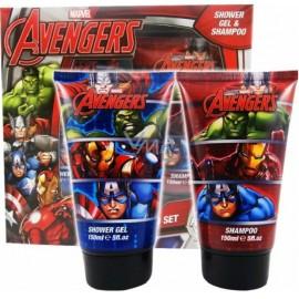 Marvel Avengers Assemble rinkinys vaikams (dušo želė+šampūnas)