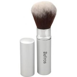 Sefiros Silver Retractable Brush kompaktinės/birios pudros šepetėlis