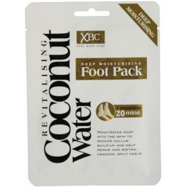 Xpel Coconut Water Deep Moisturising Foot Pack kojų kaukė-kojinės su kokosų vandeniu
