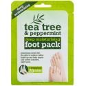 Xpel Tea Tree & Peppermint kojų kaukė-kojinės su arbatmedžio aliejumi
