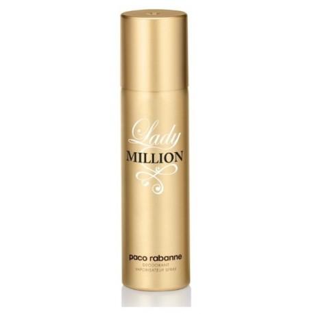 Paco Rabanne Lady Million purškiamas dezodorantas moterims 150 ml.