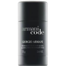 Armani Code pieštukinis dezodorantas vyrams 75 ml.