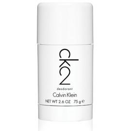 Calvin Klein CK 2 pieštukinis dezodorantas vyrams ir moterims 75 g.