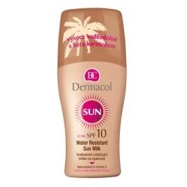 Dermacol Sun Water Resistant Sun Milk SPF 10 purškiamas losjonas nuo saulės 200 ml.