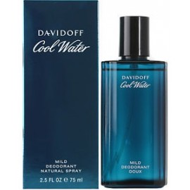 Davidoff Cool Water Man lite version purškiamas dezodorantas vyrams 75 ml.
